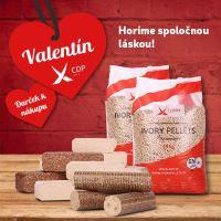 Valentín prináša zľavu, ktorá zahreje