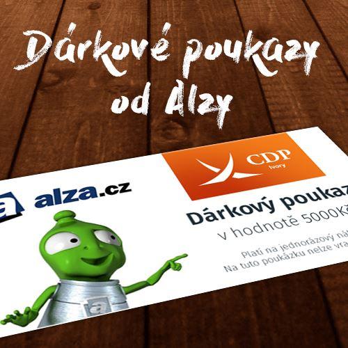 Dárkový poukaz ALZA v hodnotě 5 000 Kč
