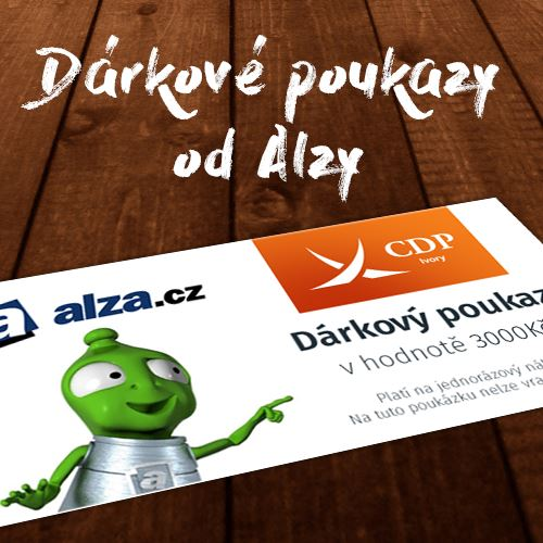 Dárkový poukaz ALZA v hodnotě 3 000 Kč