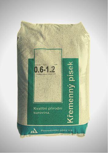 Filtrační písek 25 kg (zrnitost 0,6 - 1,2)