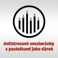 Pastelky CDP + antistres. omalovánky
